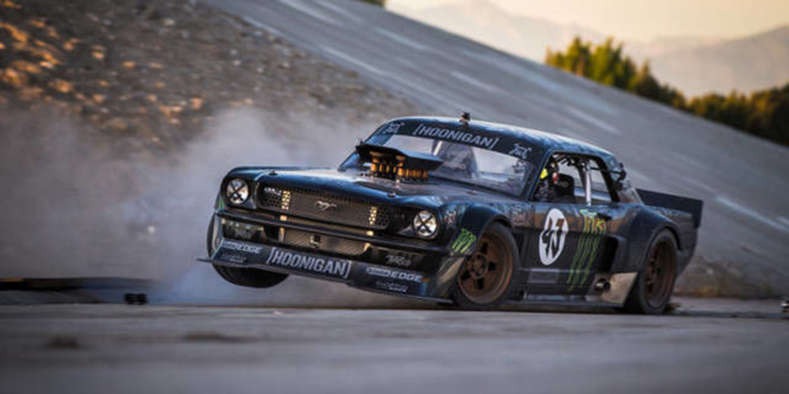 Watch It Ken Block Tears Up La In 845 Hp Mustang In