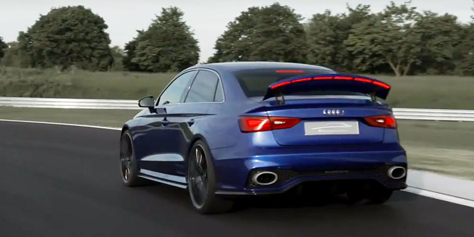2017 Audi Rs3 Sedan With 400hp Video