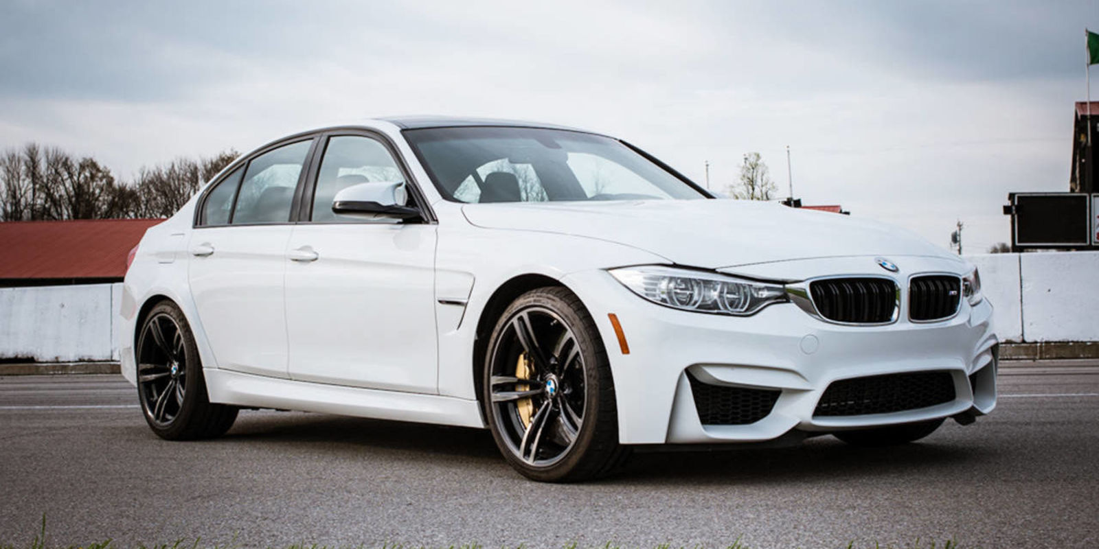 The Racetrack Is The 2015 Bmw M3 S Bs Detector