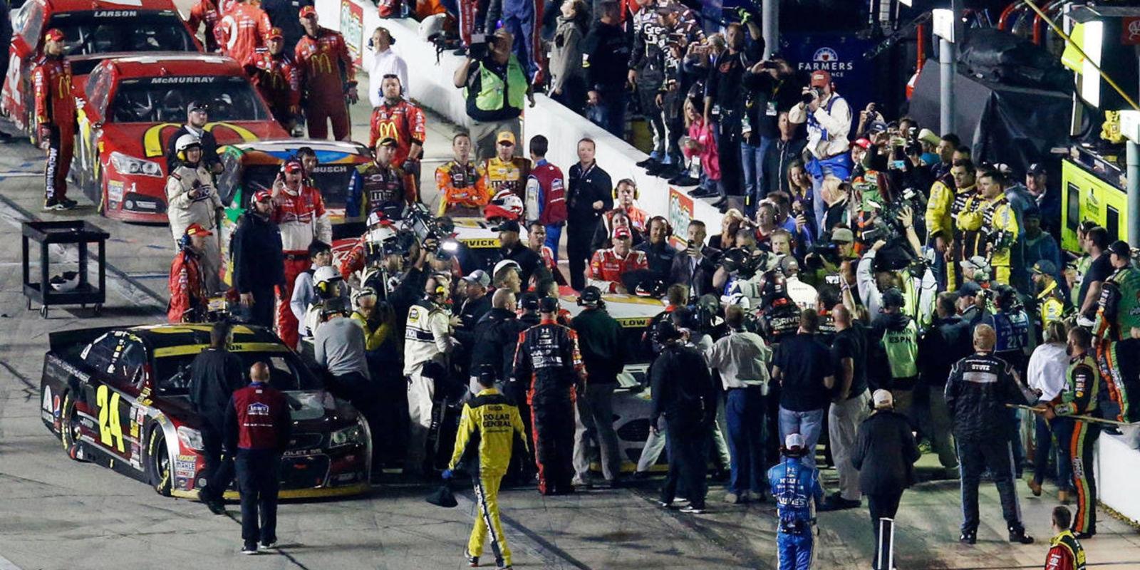 After Gordon and Keselowski brawl pit crews pay the price
