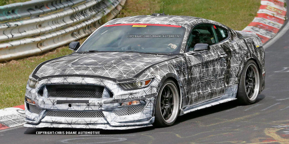 Camouflage Ford Mustang 2016 Ford Mustang Shelby Gt350