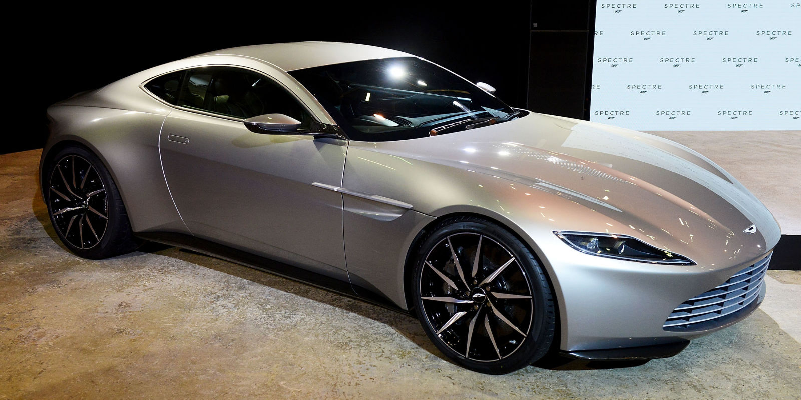 live shots of the aston martin db10 from spectre. Black Bedroom Furniture Sets. Home Design Ideas