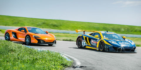 driving the mclaren 650s and mp4 12c gt3 back to back. Black Bedroom Furniture Sets. Home Design Ideas