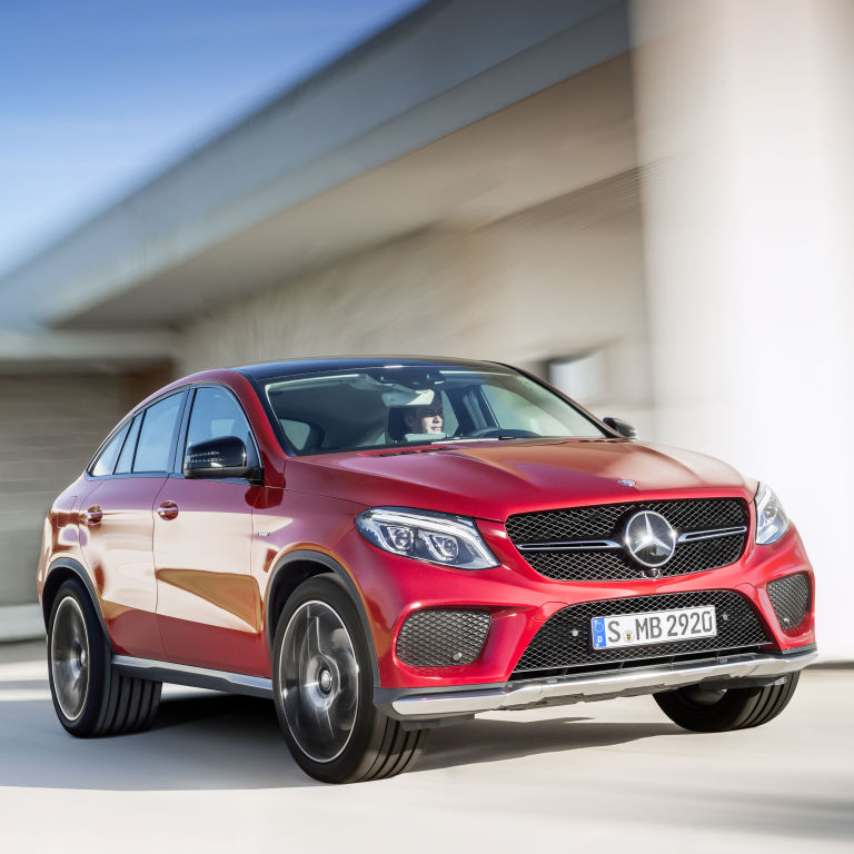 """2016 Mercedes Benz Gle Coupe Suspension: The Stylish Mercedes-Benz GLE 450 AMG """",Coupe"""", Is Here"""