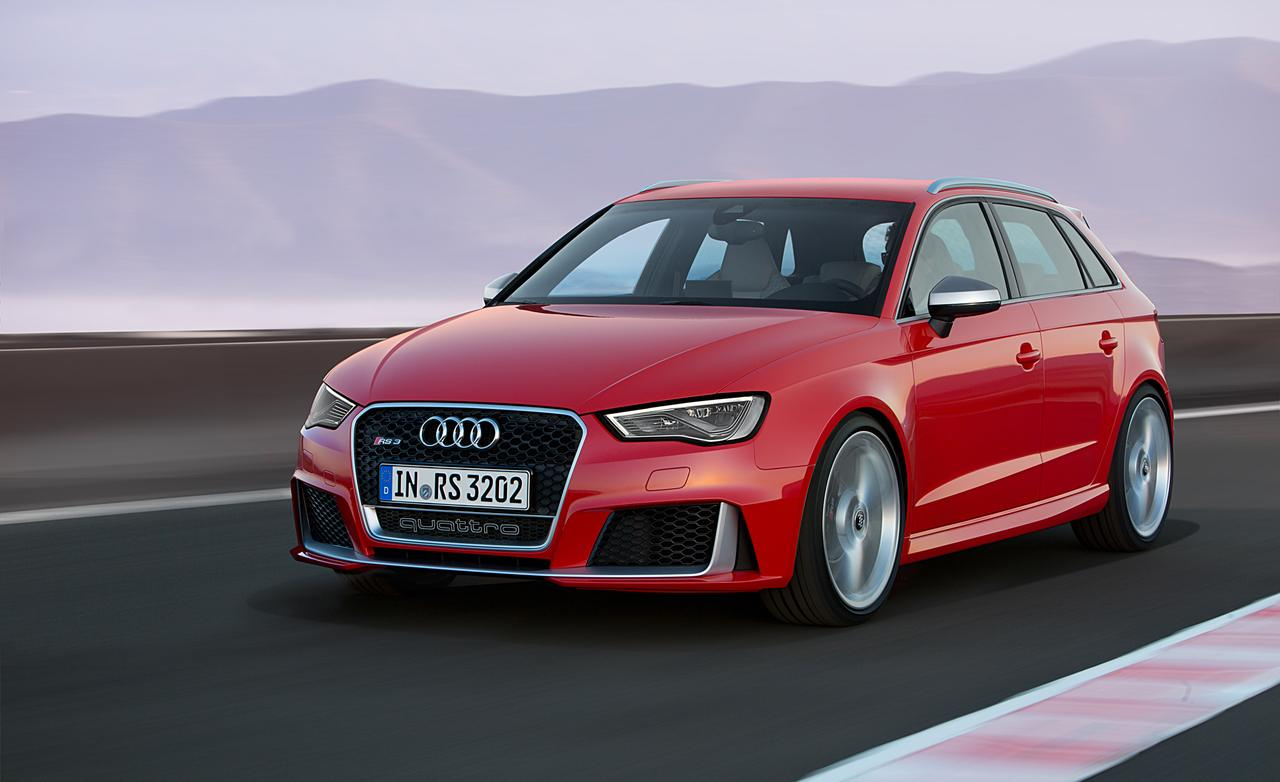 hot hatch or hottest hatch audi rs3 debuts packing 367 horsepower. Black Bedroom Furniture Sets. Home Design Ideas