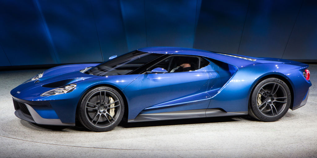 The ford gt seems to be production ready for Garage ford paris 13