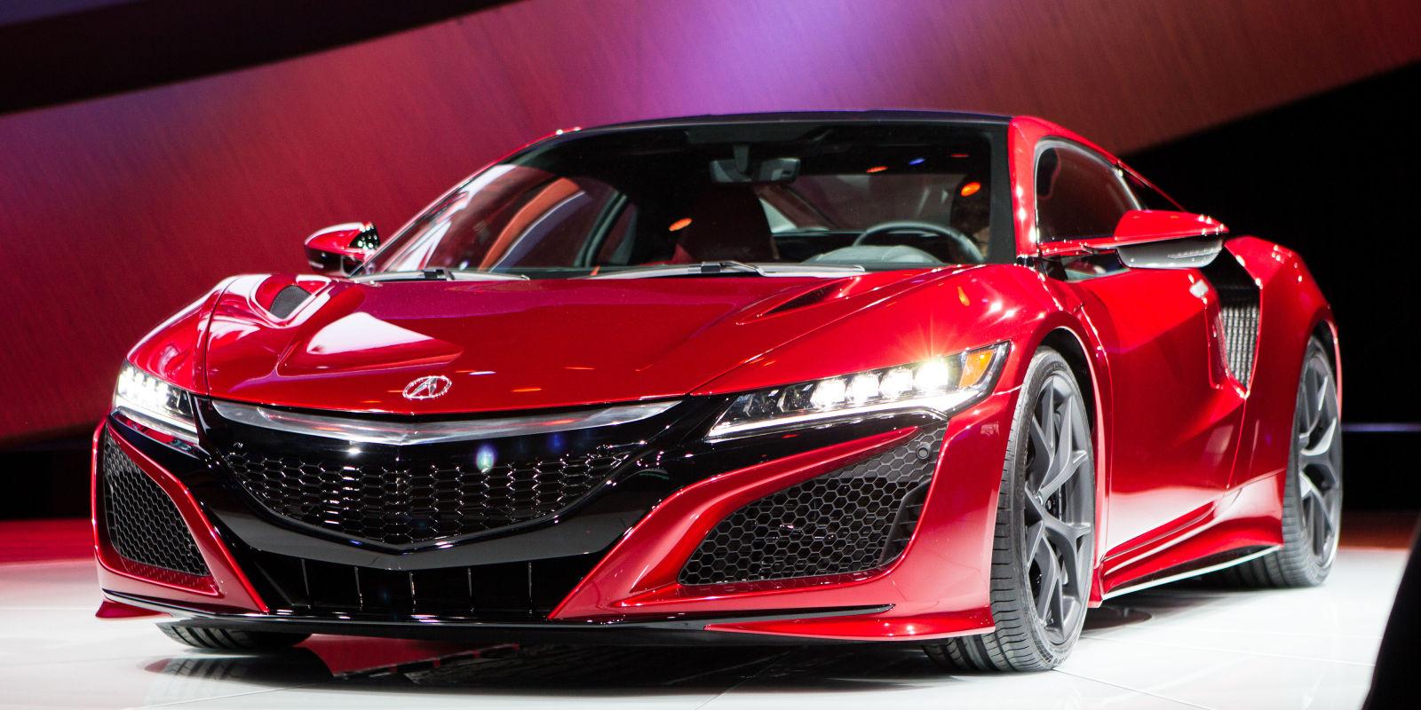 2016 Acura NSX Delayed