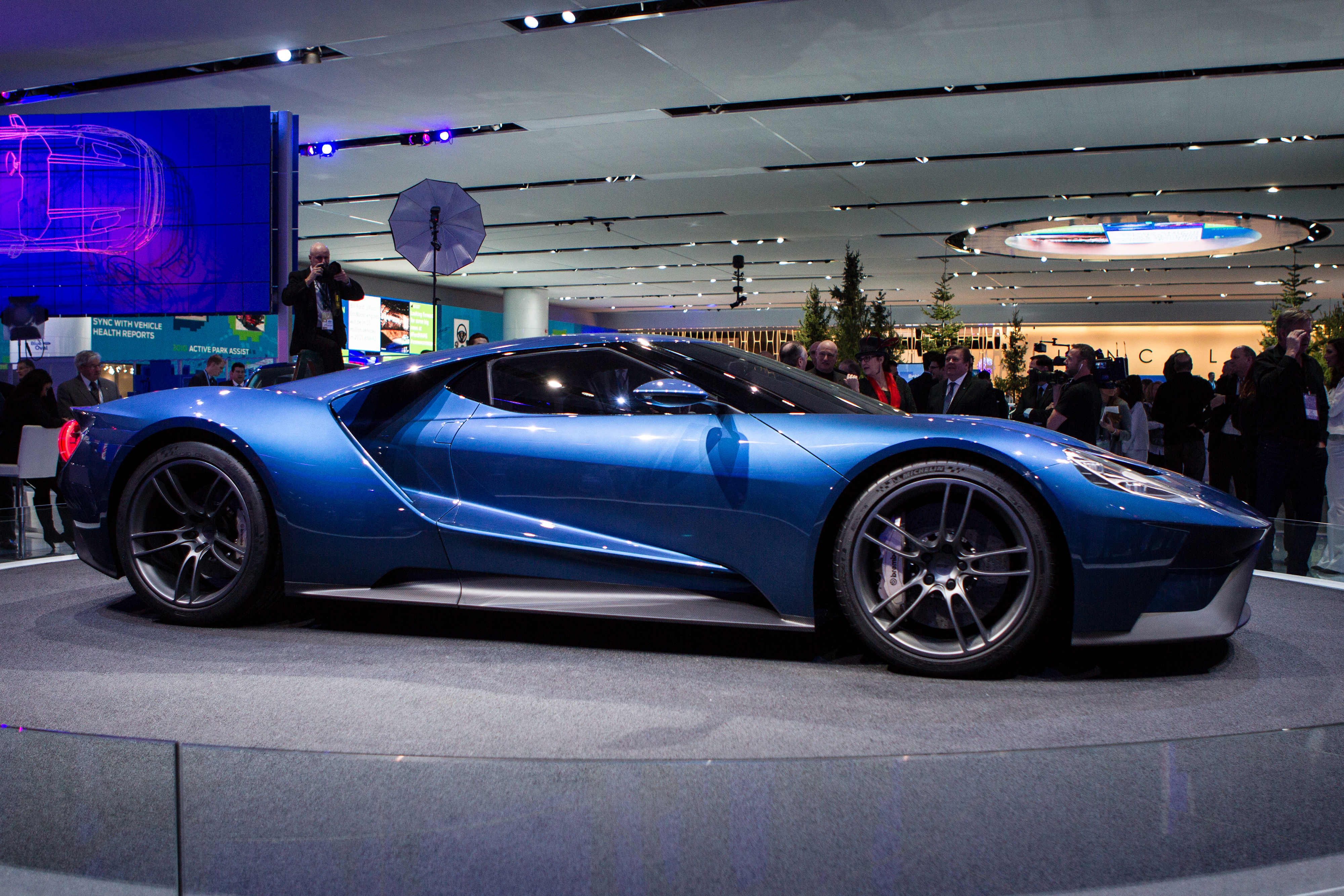 The new ford blue at naias for New paint car