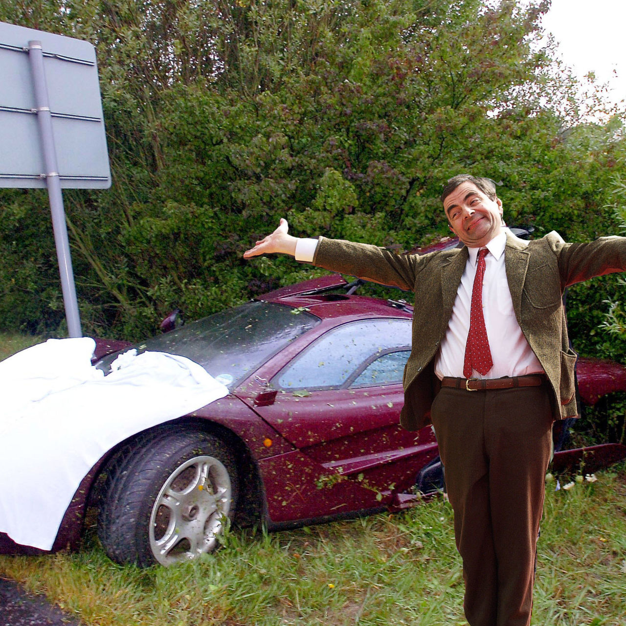 You Can Buy Mr Bean S Twice Wrecked Daily Driver Mclaren F1