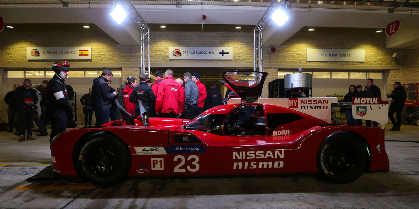 Nissan - Motorsport Lineup 2015 mit WEC, Le Mans, GT