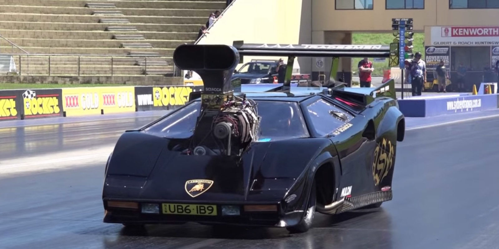 More Drag Racers Should Have Lamborghini Bodywork
