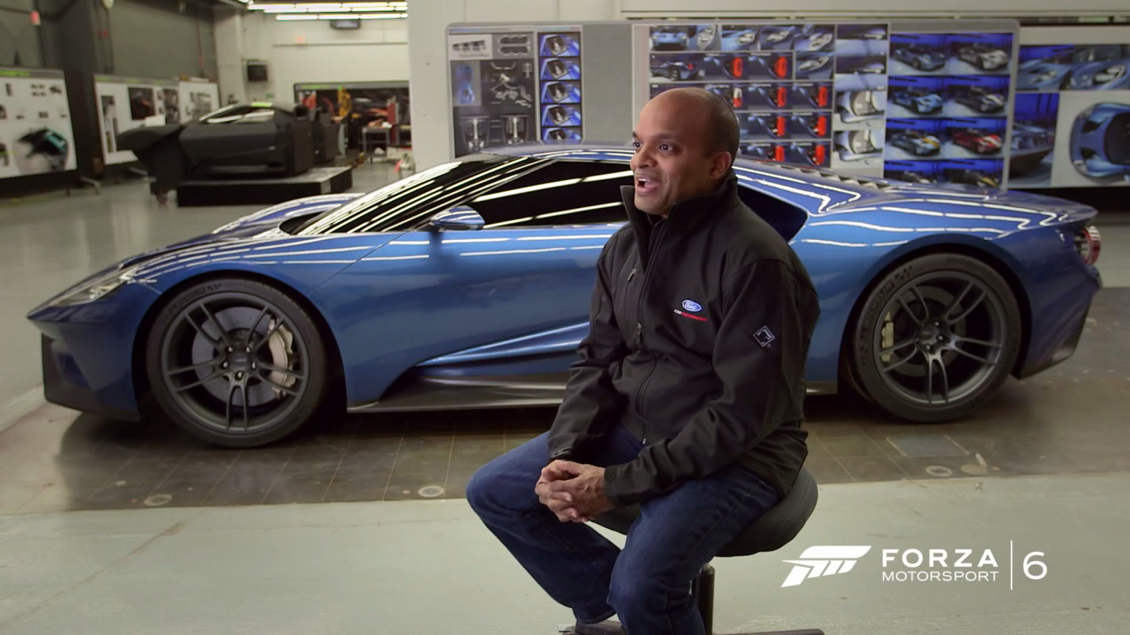 Ford Global Product Chief Raj Nair And The New Ford Gt