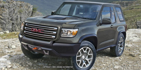 Report: GMC considering a Jeep Wrangler competitor