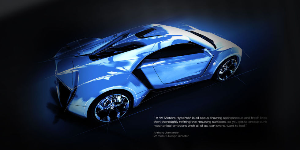 lykan hypersport photos video - W Motors Supersport Limited Edition