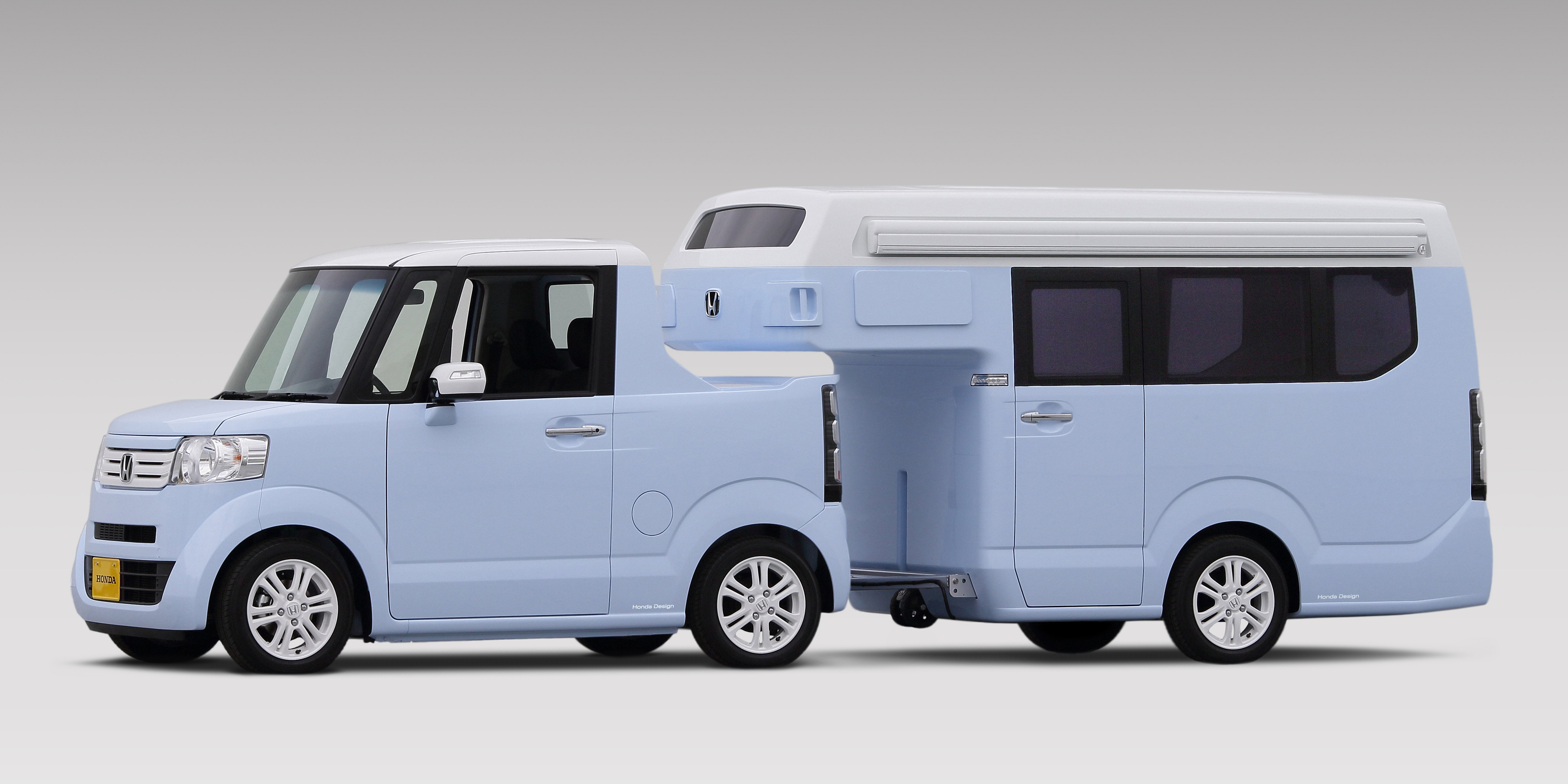 Honda Element Camper For Sale >> Honda built a micro truck/camper combo and it's amazing