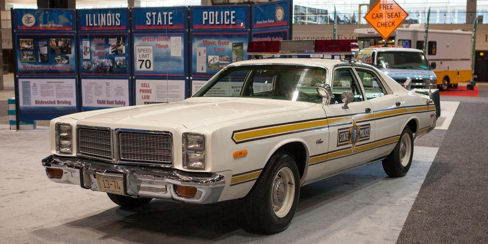 1977 Dodge Monaco Police Car Live In Chicago