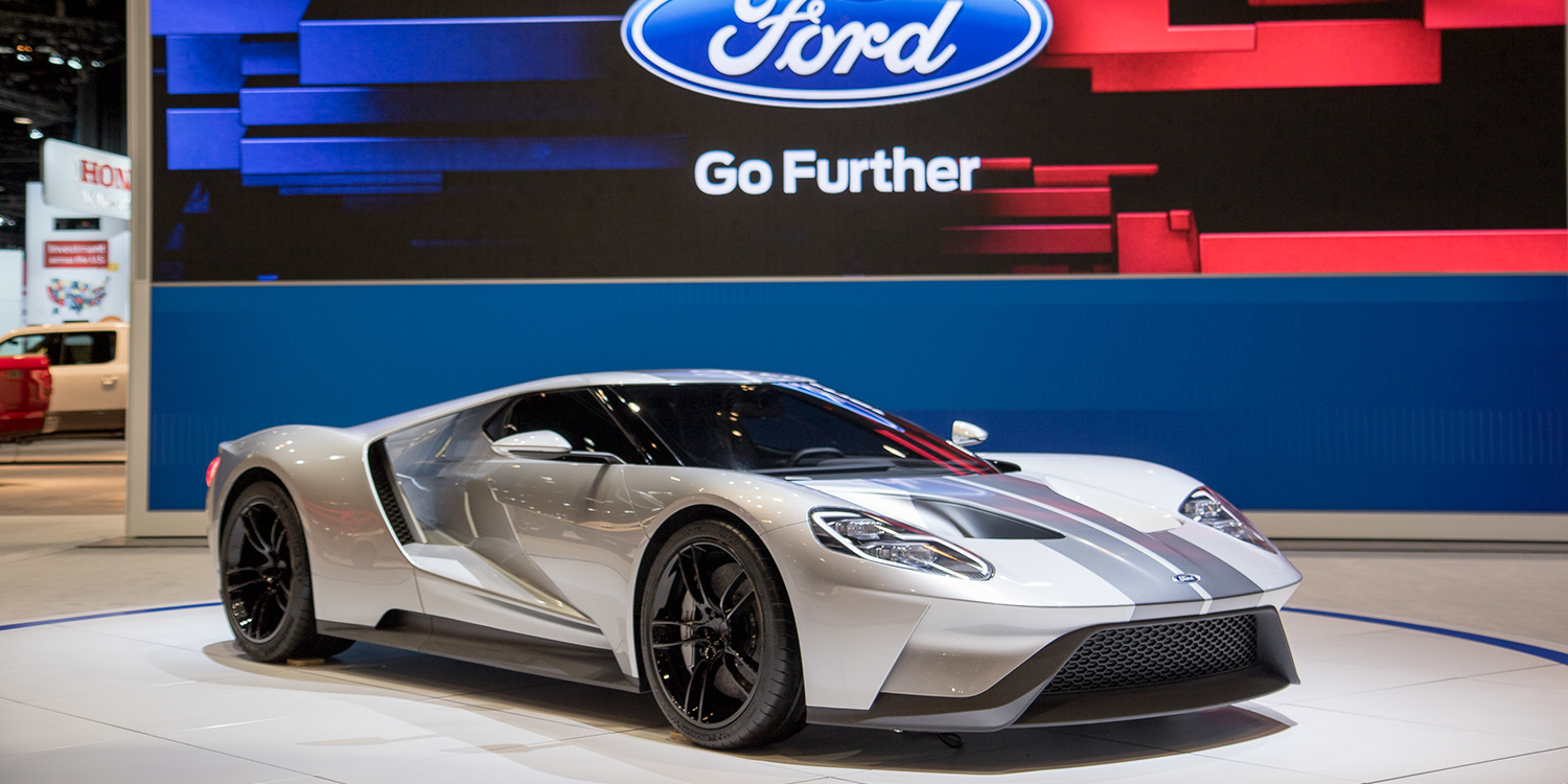 ford gt chicago auto show