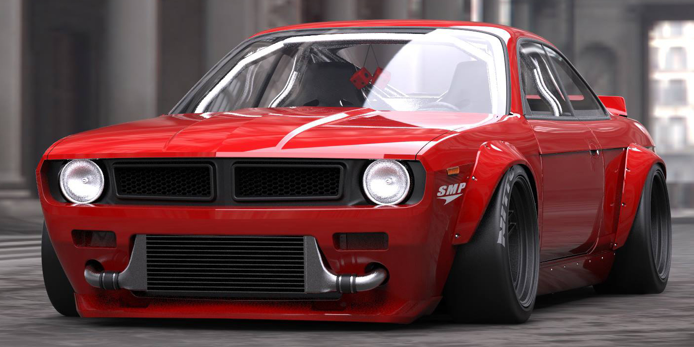 Kit Cars To Build Yourself In Usa: Rocket Bunny's Nissan 240SX Kit Apes '70 Plymouth Cuda