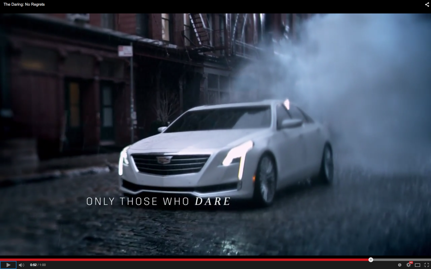 cadillac ct6 revealed in oscars tv commercial. Black Bedroom Furniture Sets. Home Design Ideas