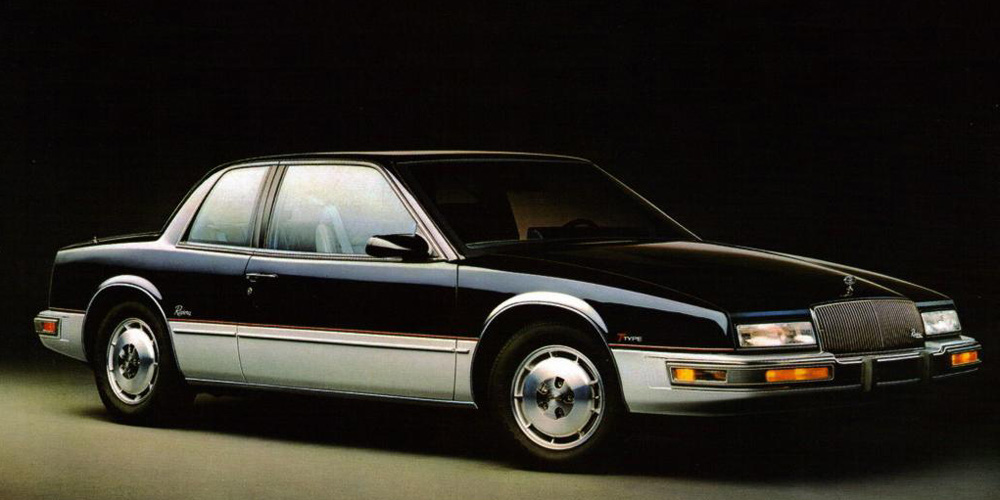carchaeology 1986 buick riviera introduces the touchscreen. Black Bedroom Furniture Sets. Home Design Ideas