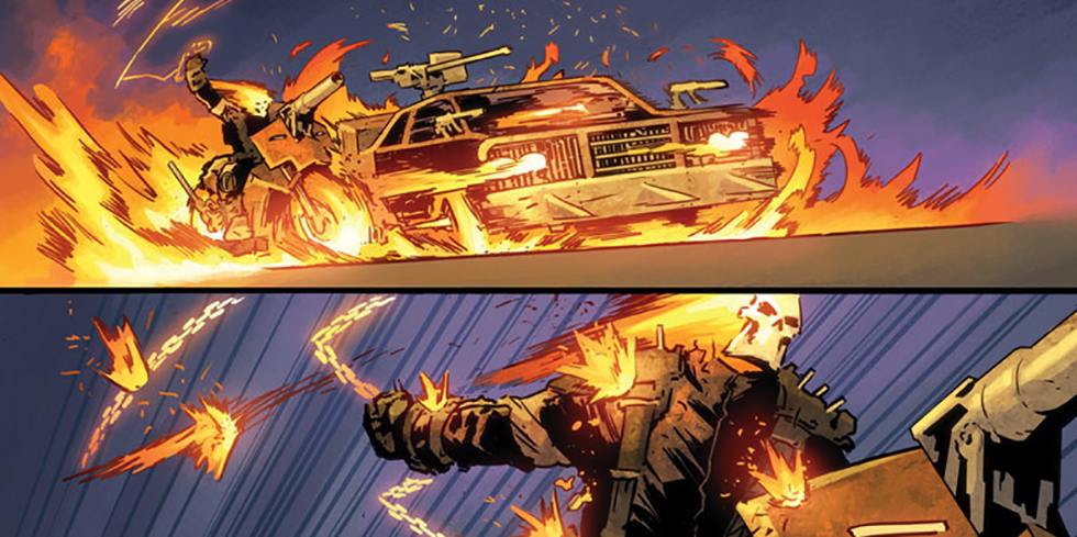 Ghost Rider meets Max Max in Ghost Racers