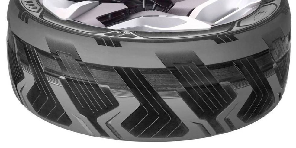 Goodyear Triple Tread >> Goodyear concept tires shape-shift, create electricity