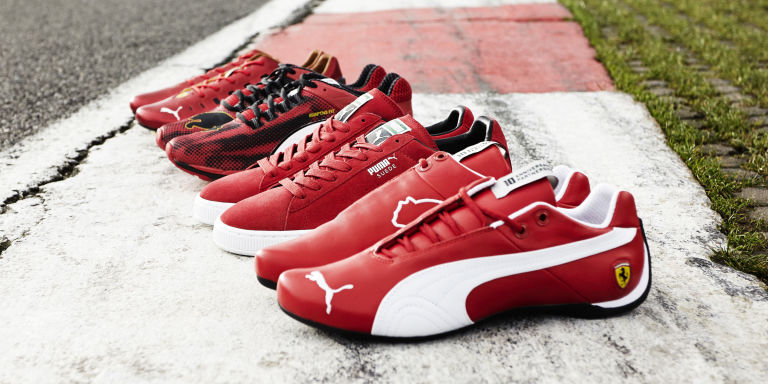 Puma Suede Ferrari