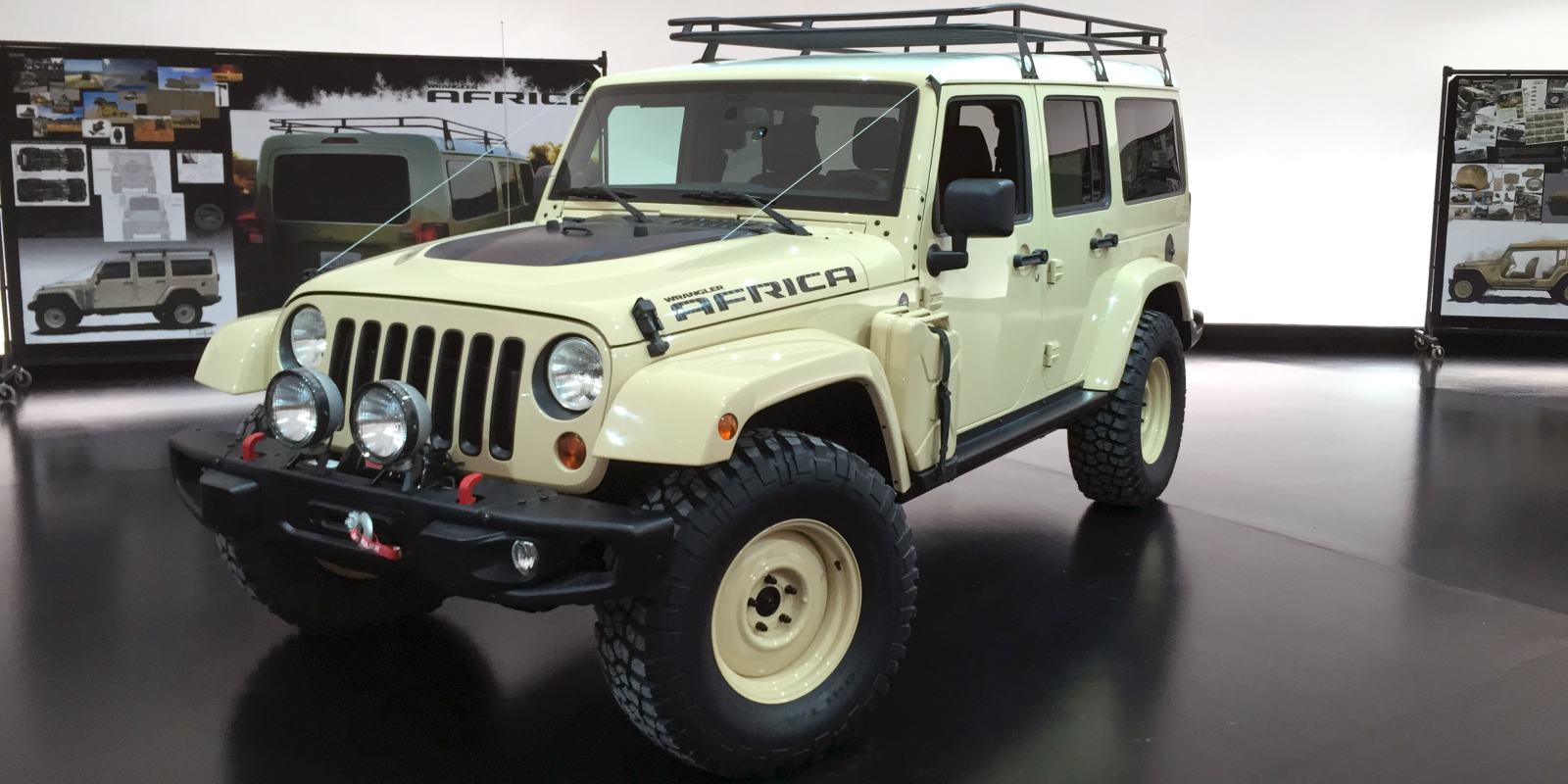The Africa Concept Might Preview Future Jeep Wranglers