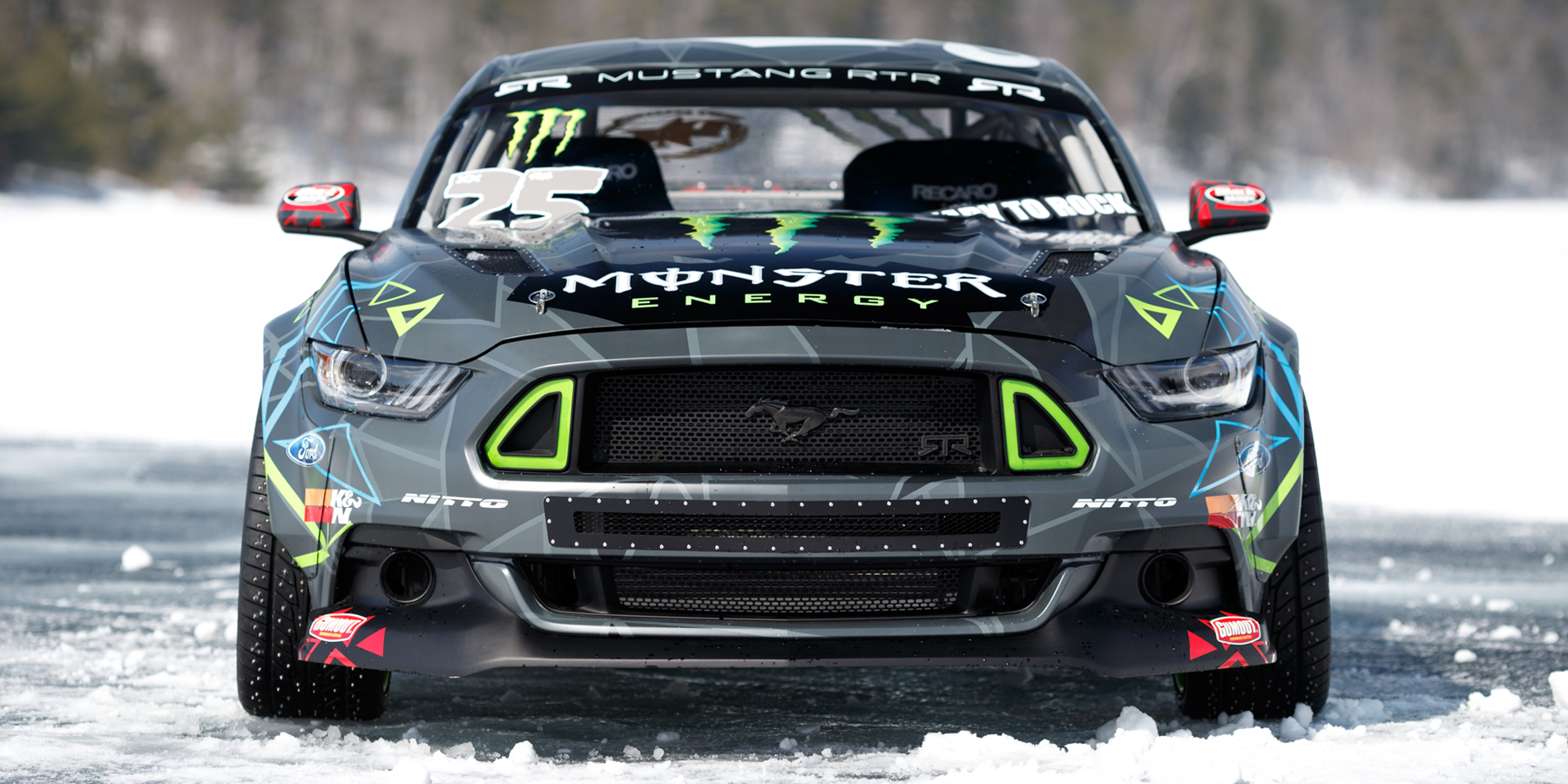 Check Out Vaughn Gittin Jr S 2015 Mustang Rtr Drift Car