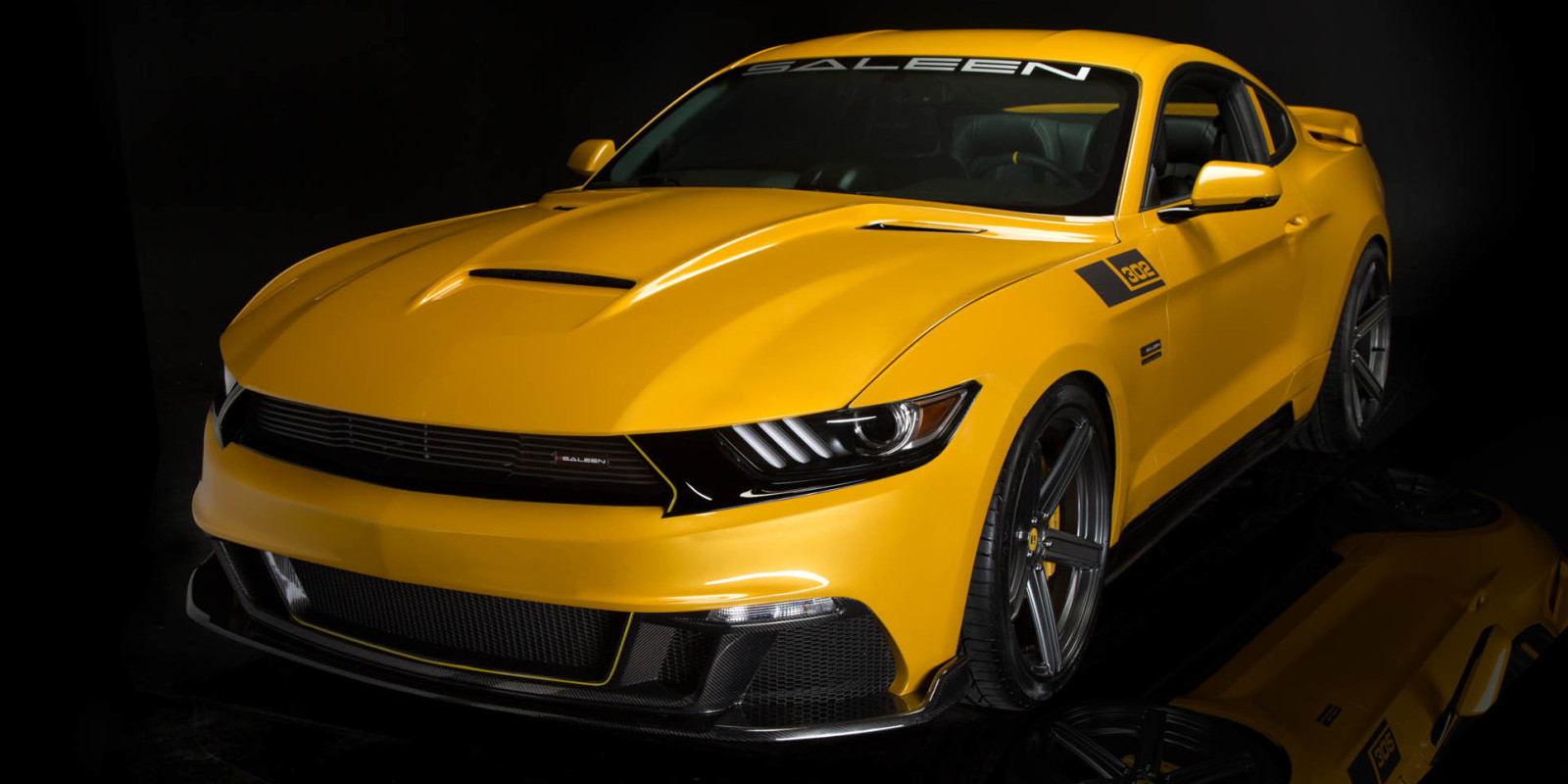 Saleen 302 Black Label Mustang Makes 730 Hp Costs 73k