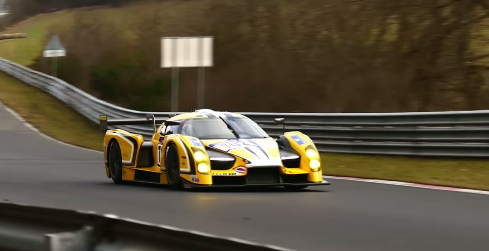 Scg 003 Is Too Loud For The N 252 Rburgring
