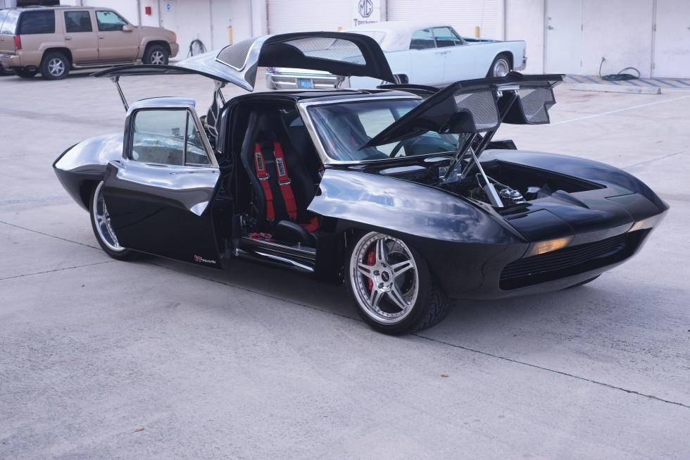 Mid-engine 1963 Corvette V7 twin-turbo goes up for auction - VetteTV