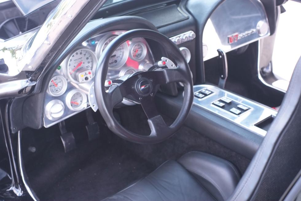 Twin-turbo mid-engine 1963 Corvette – Photos