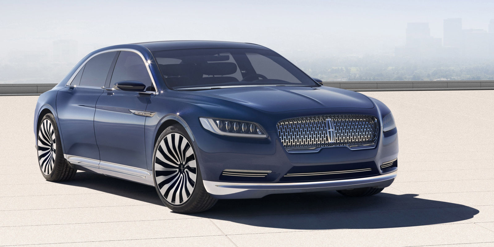 call it a comeback lincoln continental goes on sale in 2016. Black Bedroom Furniture Sets. Home Design Ideas