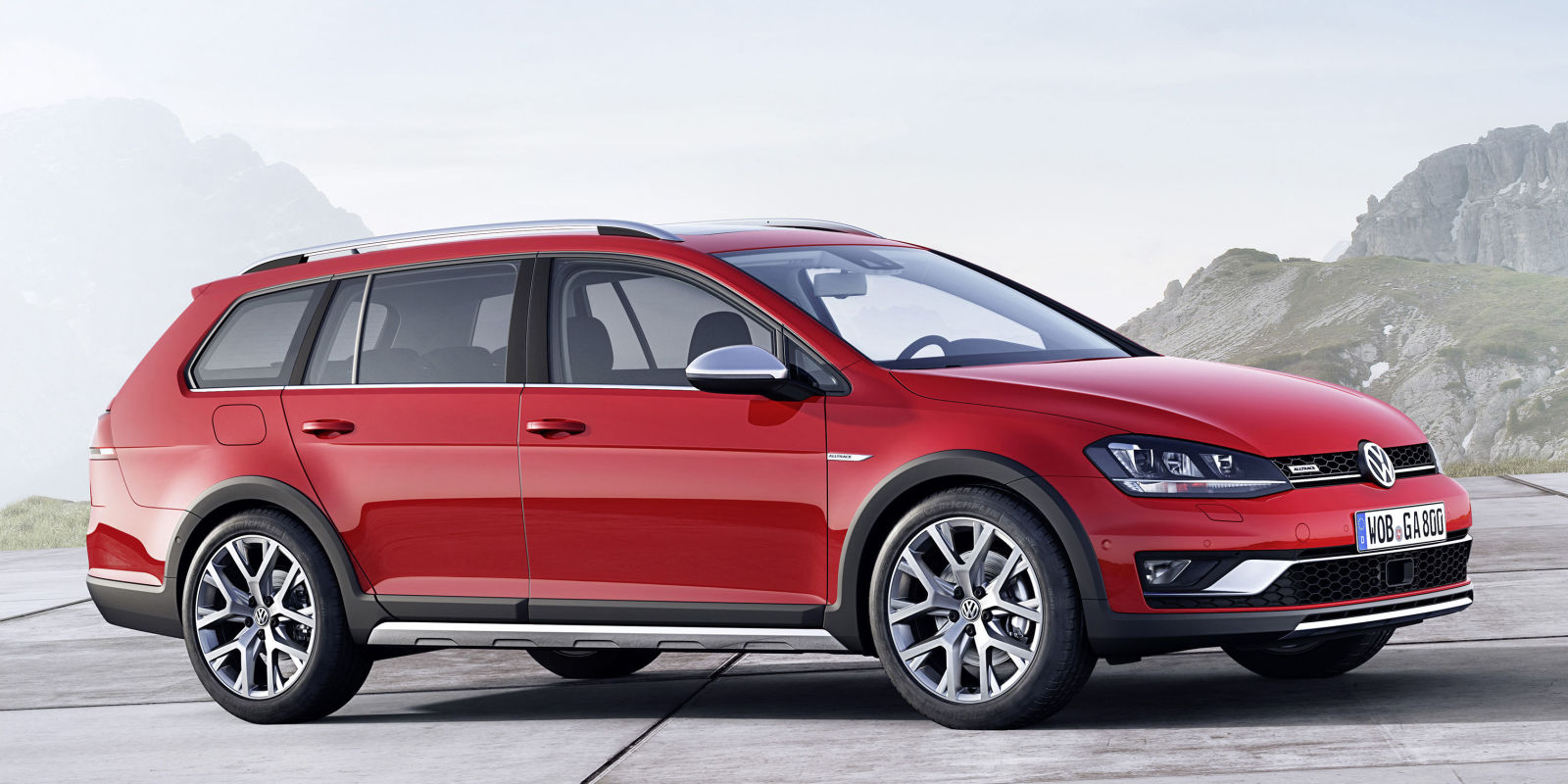 the 2017 vw golf sportwagen alltrack is coming to u s. Black Bedroom Furniture Sets. Home Design Ideas