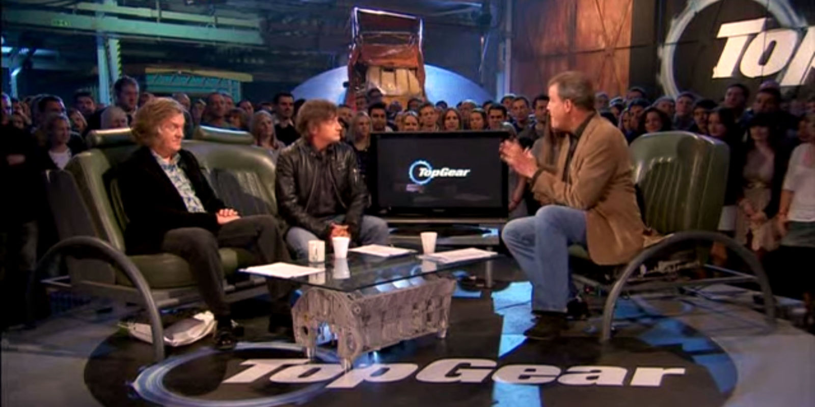 bbc dismantles the top gear set. Black Bedroom Furniture Sets. Home Design Ideas