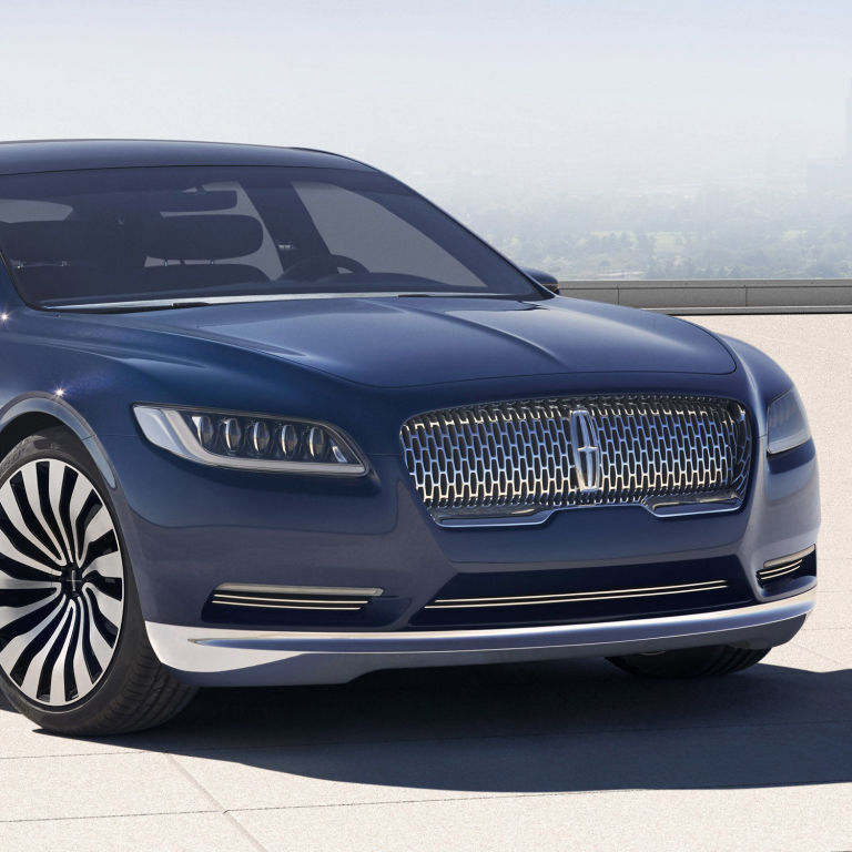 2016 Lincoln Cars: Call It A Comeback: Lincoln Continental Goes On Sale In 2016