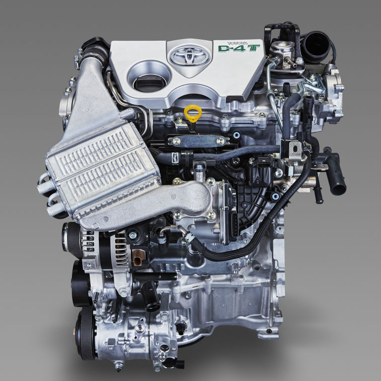 Meet Toyota's Tiny New Turbo Four-cylinder