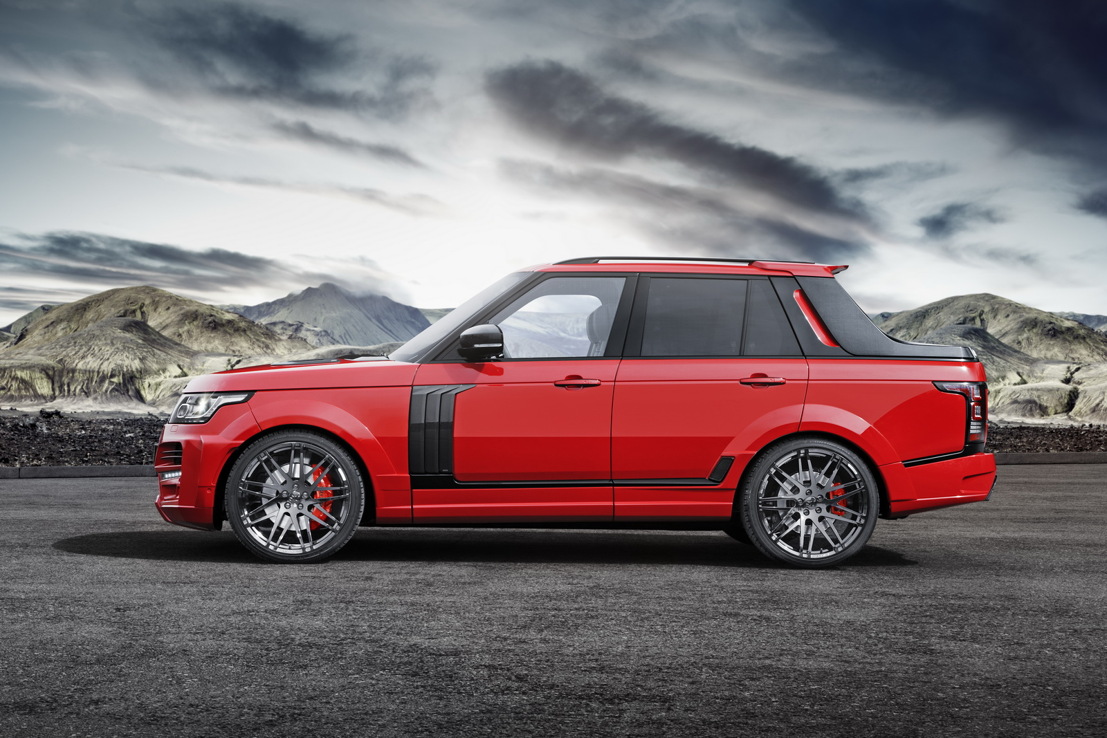 the range rover pickup you never thought to ask for. Black Bedroom Furniture Sets. Home Design Ideas