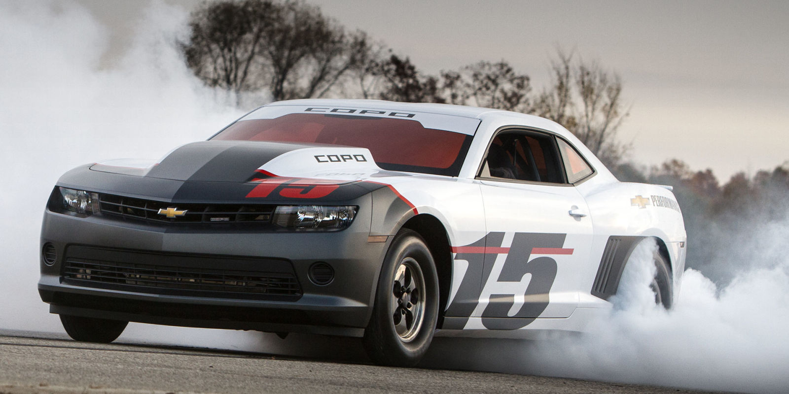 First 2015 Copo Camaro Sale Will Benefit Wounded Vets