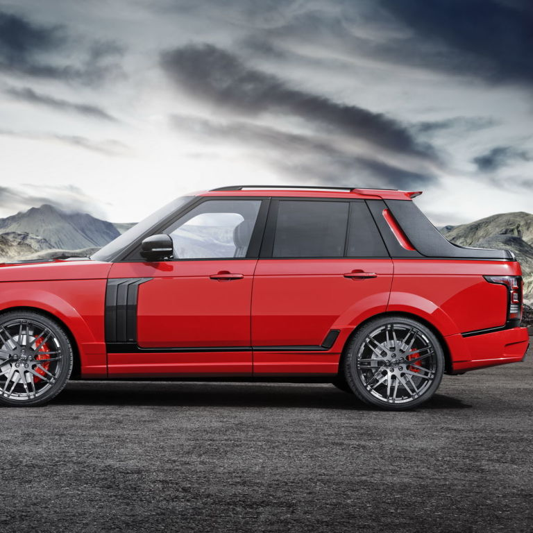The Range Rover pickup you never thought to ask for