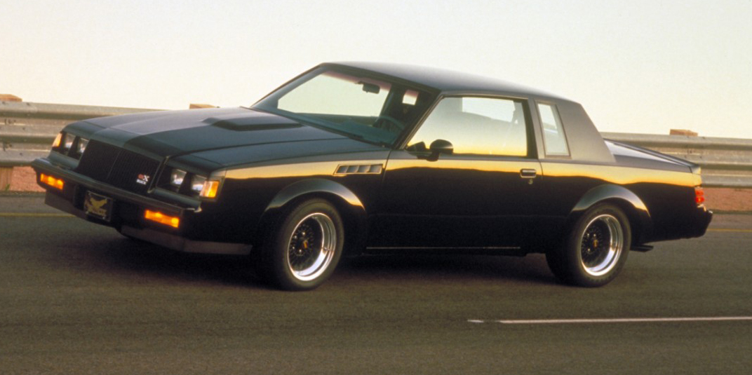 first look flashback 1987 buick grand national gnx review. Black Bedroom Furniture Sets. Home Design Ideas