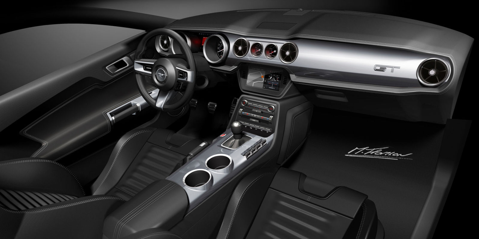 How Designers Created The 2015 Ford Mustang Interior