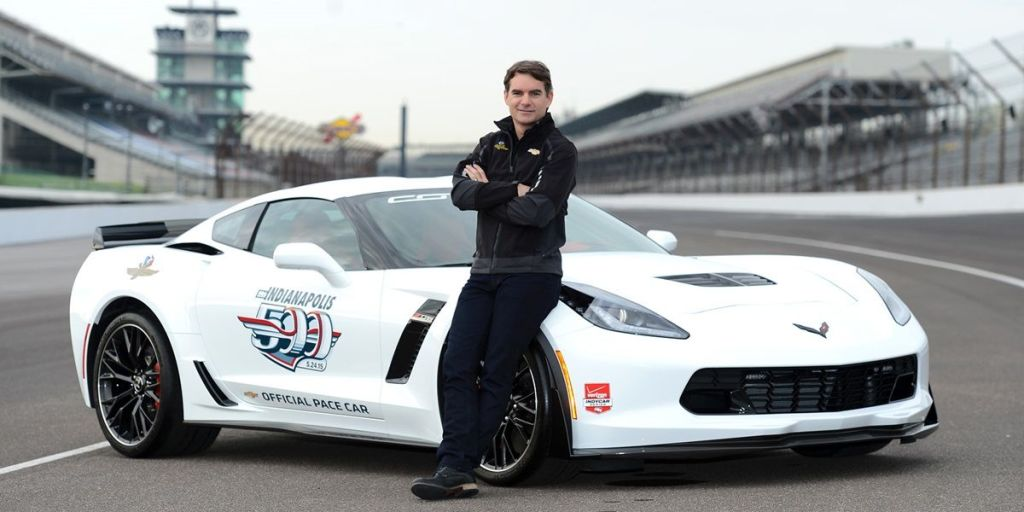 jeff gordon to drive corvette z06 pace car at indy 500. Black Bedroom Furniture Sets. Home Design Ideas