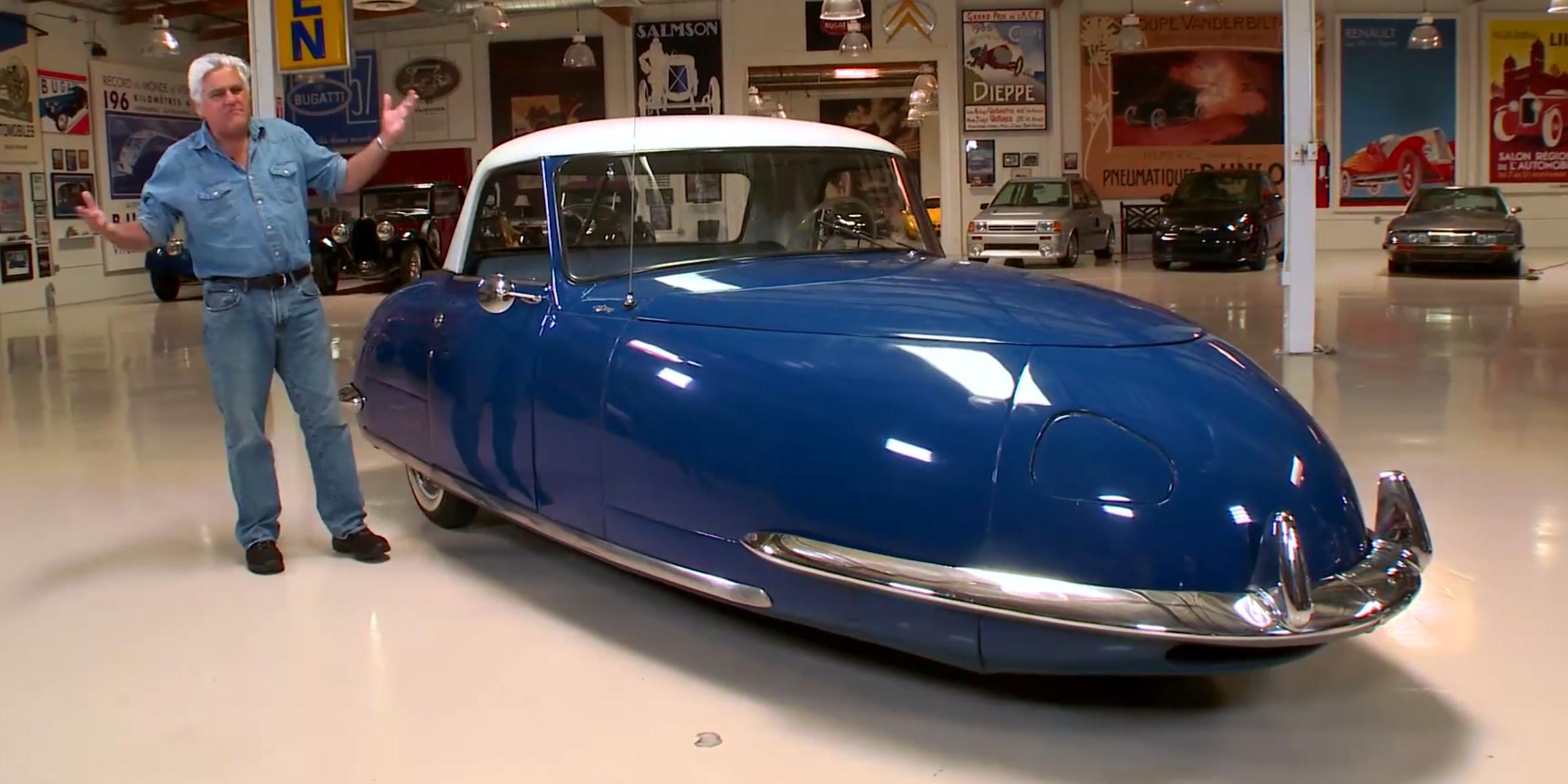 Leno Drives The Oddball Three Wheeled 1948 David Divan