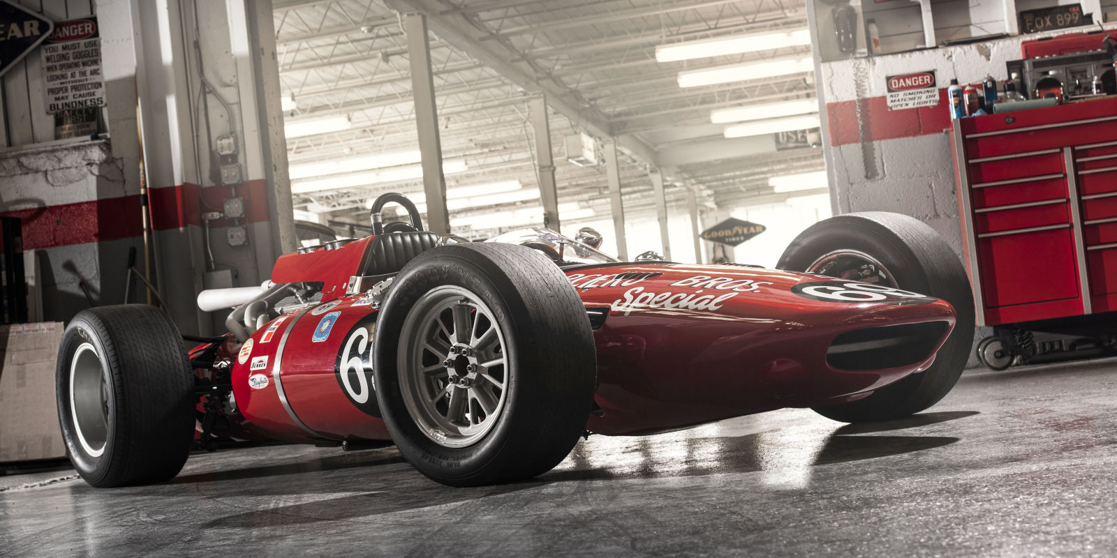 How to buy a vintage indy car and make it turn right for Vintage motor cars for sale
