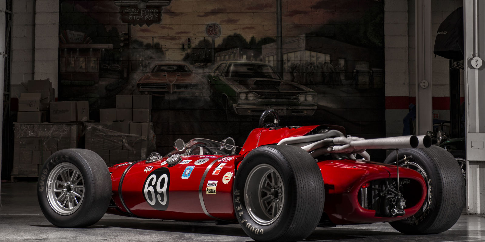 Vintage Indy Race Cars 7