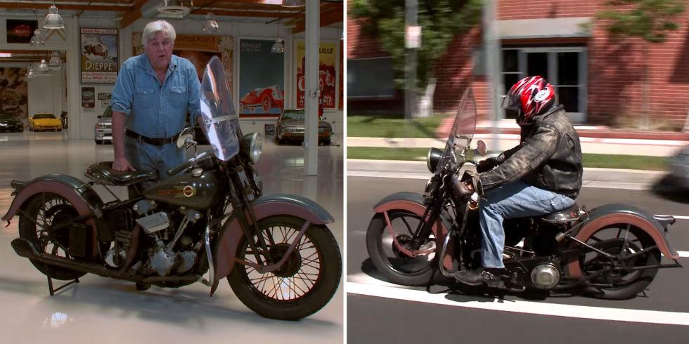 Jay Leno's 1936 Harley-Davidson
