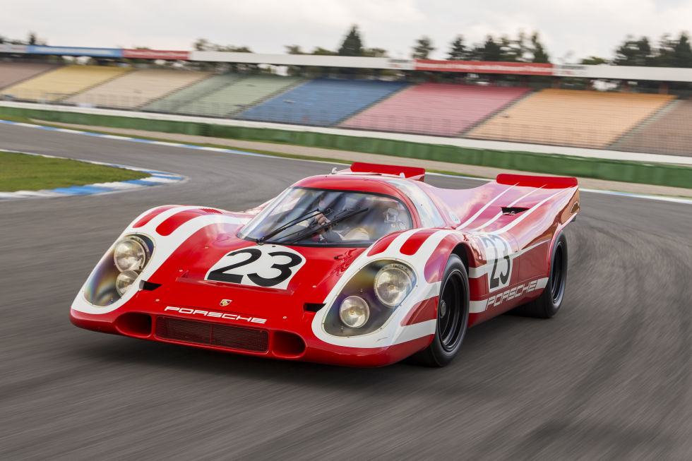 2015 919s Pay Tribute To Classic Porsche Le Mans Cars