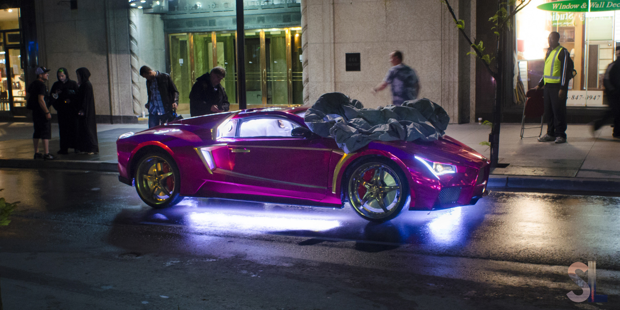 Exclusive: Behind-the-scenes with the cars of Suicide Squad